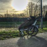 Fit und entspannt mit Ihrem Kind und dem Jogger Kinderwagen